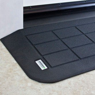 "SAFEPATH Products: EZ Edge Recycled Rubber Threshold Ramp (1 1/4"" Height)"