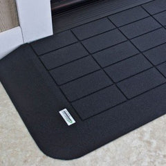 "SAFEPATH Products: EZ Edge Recycled Rubber Threshold Ramp (1 1/2"" Height)"