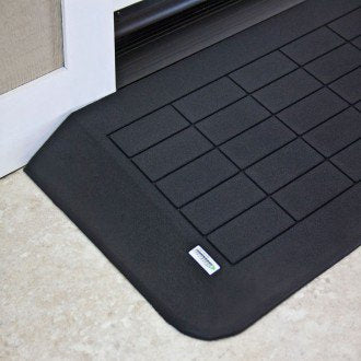 "SAFEPATH Products: EZ Edge Recycled Rubber Threshold Ramp (1 3/4"" Height)"