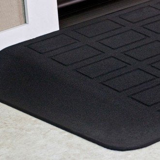"SAFEPATH Products: EZ Edge Recycled Rubber Threshold Ramp (2"" Height)"