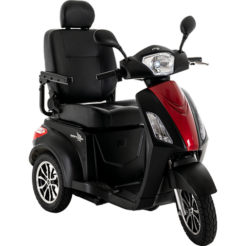 Pride Mobility: Raptor (Black) 3-Wheel Scooter
