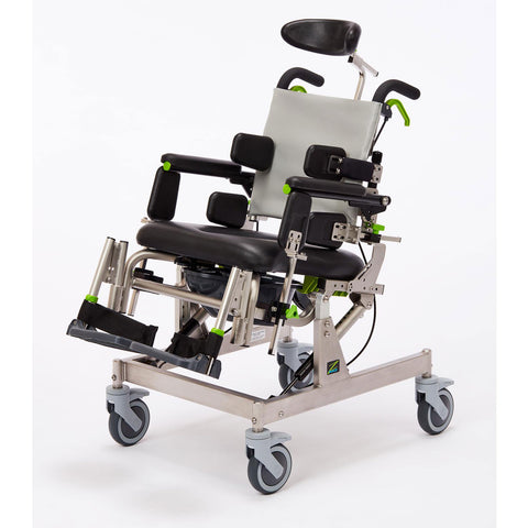 Raz Designs: Compact Attendant Tilt - Raz-CAT - Side View