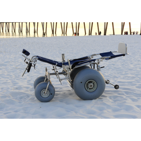 Debug Mobility: Reclining All-Terrain Beach Wheelchair - Actual Image