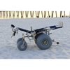 Image of Debug Mobility: Reclining All-Terrain Beach Wheelchair - Actual Image