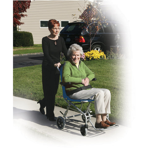 Super Light Folding Transport Wheelchair with Carry Bag - SL18