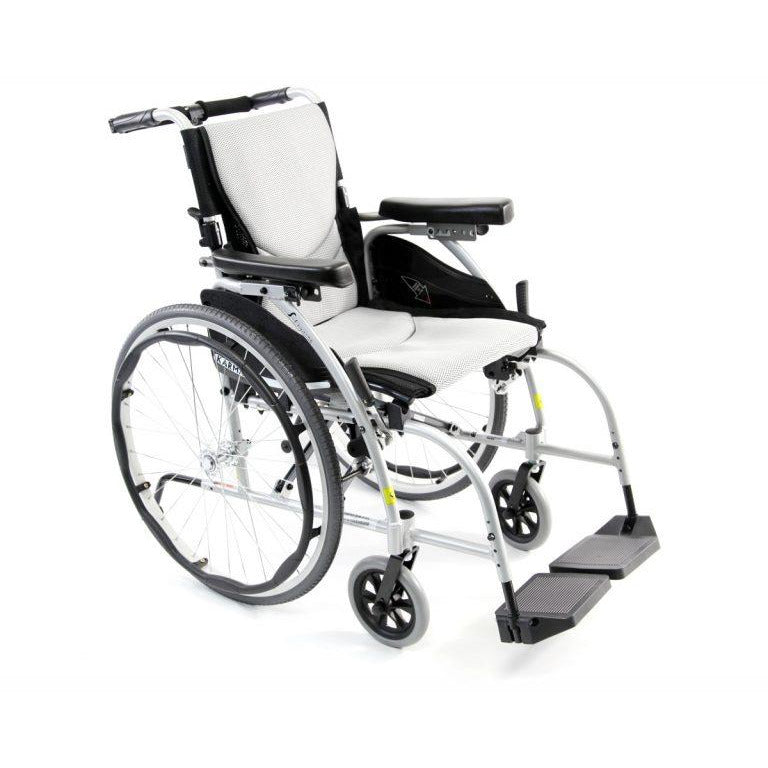 Karman Healthcare : ERGO - Ultra Lightweight Wheelchair  – S-ERGO 106 front view