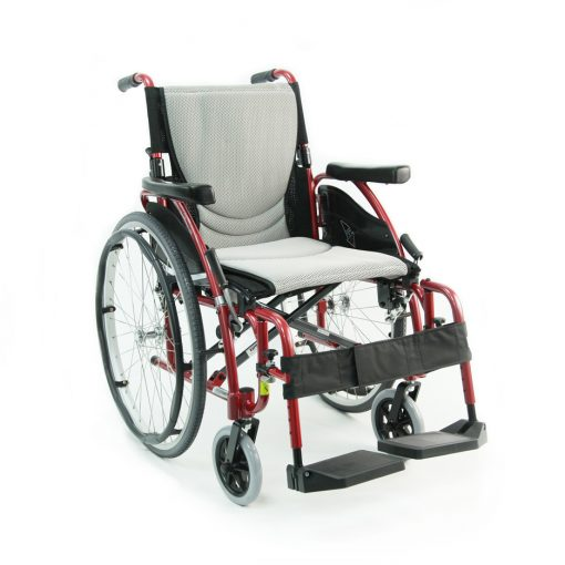 Karman Healthcare : ERGO - Ultra Lightweight Wheelchair  – S-ERGO 125 front view