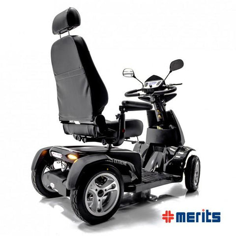 Merits: Silverado Extreme 4 Wheel mobility scooter - Mobility Scooters Store