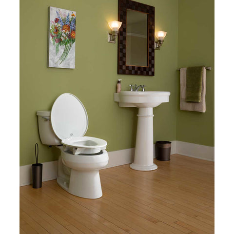 Bemis Independence: Clean Shield Elevated Toilet Seat - Actual Image
