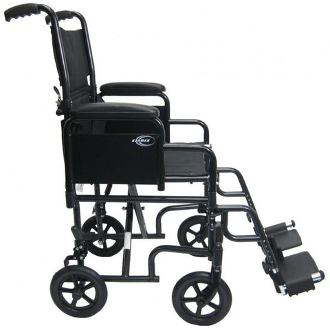 Karman Healthcare:  Transport Wheelchairs – T-2700 side view