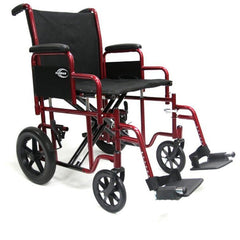 Karman Healthcare: T-920 & T-922 Deluxe Bariatric Transport Wheelchair – T-920 Main image