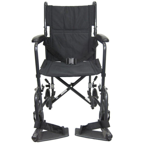 Karman Healthcare: T-2017 & T-2019  Lightweight Compact  Transport Wheelchairs – T-2000 front view