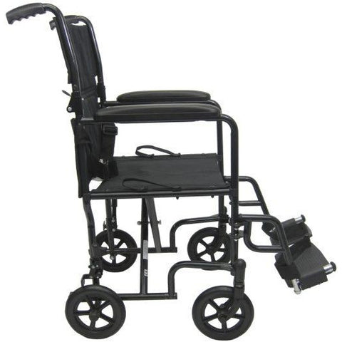 Karman Healthcare: T-2017 & T-2019  Lightweight Compact  Transport Wheelchairs – T-2000 side view