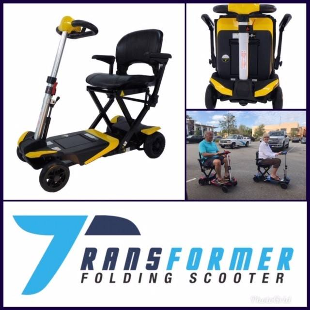 Enhance Mobility: Transformer Scooter (Automatic Folding Scooter) - S3021 - Actual Picture