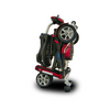 EV Rider: Transport Plus  Transportable Foldable scooter - S19+ TranSport Red Folded