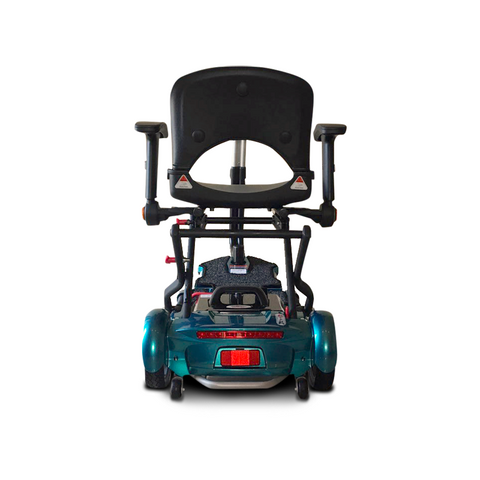 EV Rider: Transport Plus  Transportable Foldable scooter - S19+ TranSport Blue Back