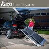 Image of Keen Healthcare: Ez-Access Suitcase® Trifold As Ramp 8′ x 29.5″ 800lb Cap - EFFEZTRAS8 - Adjust With Car