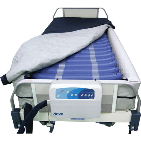 "Med Aire Plus Defined Perimeter Low Air Loss Mattress Replacement System, with Low Pressure Alarm, 8"" - 14029DP"