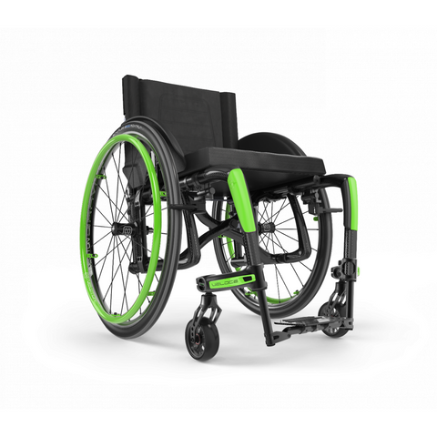 Motion Composites: Folding Wheelchairs Veloce - VEL1 - Acid Green Color