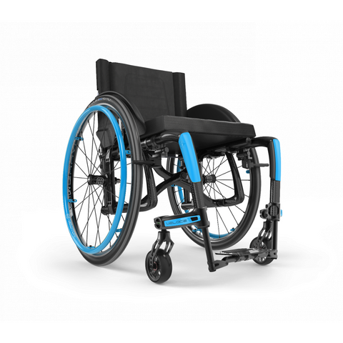 Motion Composites: Folding Wheelchairs Veloce - VEL1 - Sky Blue Color