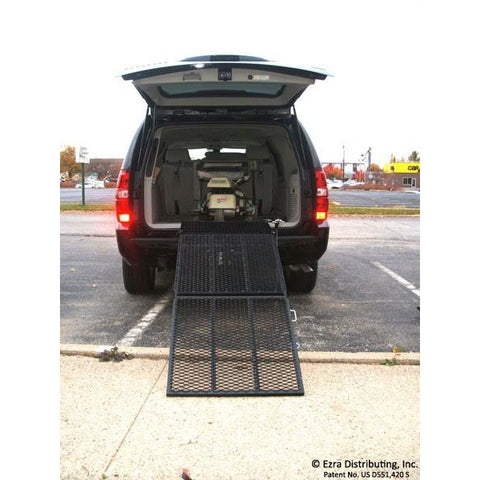 VersaHaul: Mobility Scooter Safety Ramp - VH-SR - Back View