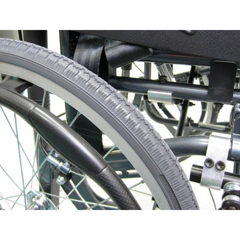 Karman Healthcare:  Lightweight Tilt-in-Space  – VIP-515 wheels