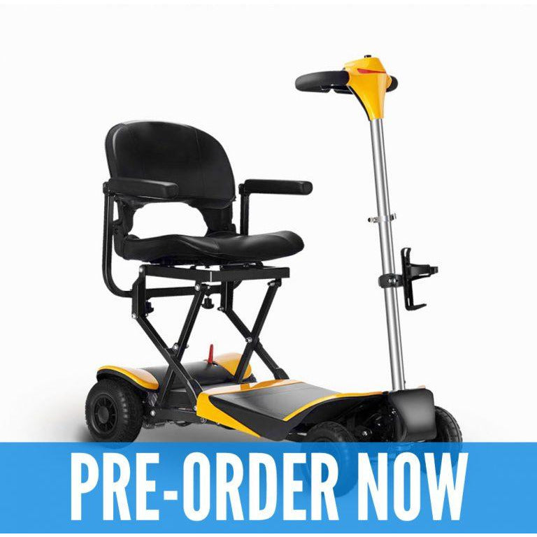 Karman Healthcare: Volare Foldable Power Wheelchair  –  SC-F100 main image