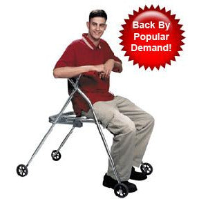 Kaye Products: Kaye PostureRest Walkers with Seats - Side View