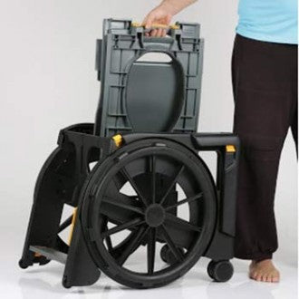 Clarke Healthcare: WheelAble Commode & Shower Chair