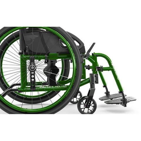 Motion Composites: Folding Wheelchairs Helio A6 - Seat to Floor Height