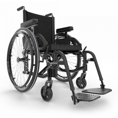 Motion Composites: Folding Wheelchairs Move - Black Color