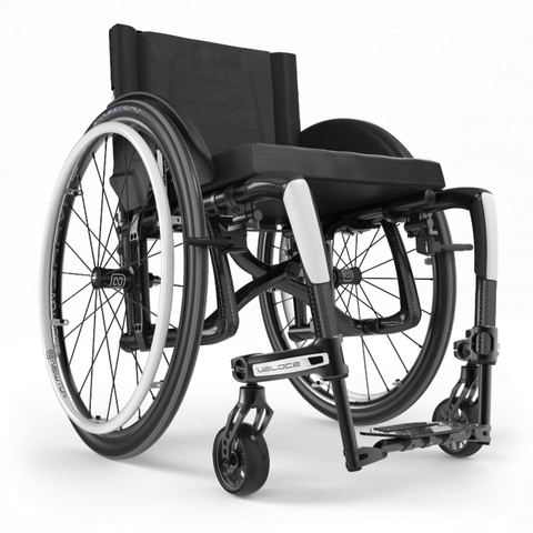 Motion Composites: Folding Wheelchairs Veloce - VEL1 - White Color