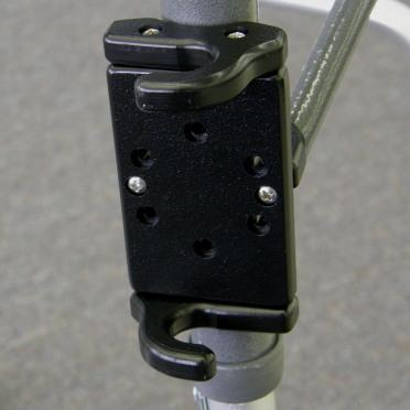 "Snap It Products: Snap In Cane Holster for 7/8"" Canes - W0010 - Front View"