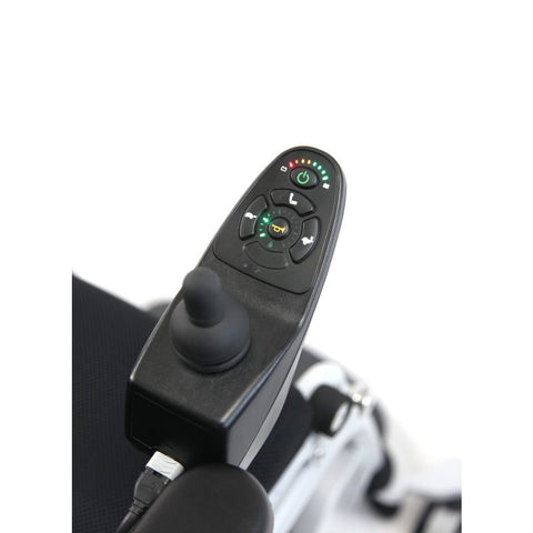 Karman Healthcare:  Power Wheelchair  – XO-202 joystick view