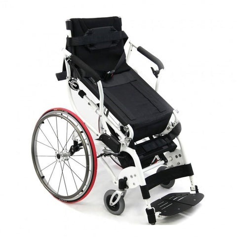 Karman Healthcare:  Power Wheelchair  – XO-55 Horizon half postion