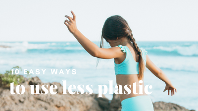10 Easy Ways to Use Less Plastic at Home