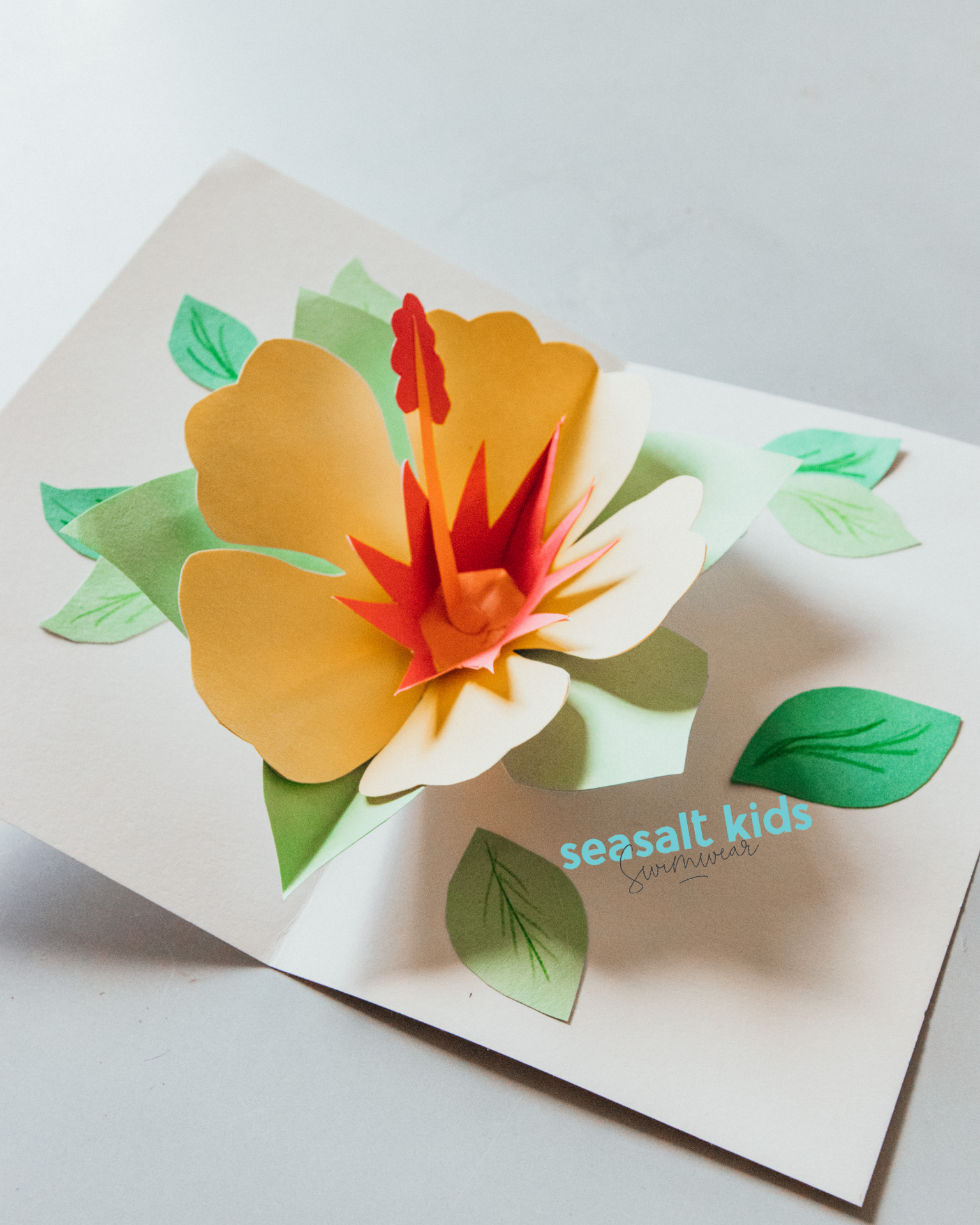 Mother's Day Gift Flower Pop Up Card