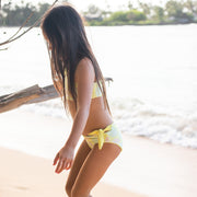 Isla Reversible Two-Piece | Lemon Squeeze + Sunny Monstera