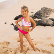 Isla Reversible Two-Piece | Pinky Toes + Tickle Me Plumeria