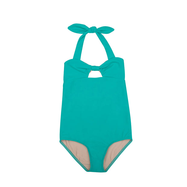 Charlotte One-Piece | Turquoise Seas