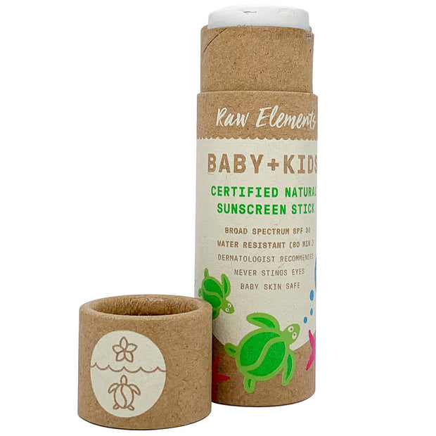 Kids Natural Sunscreen travel stick