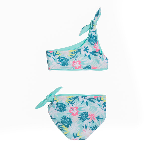 Isla Reversible Two-Piece | Opa Blue + Island Hibiscus