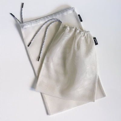 Reusable Produce Bags in Ivory