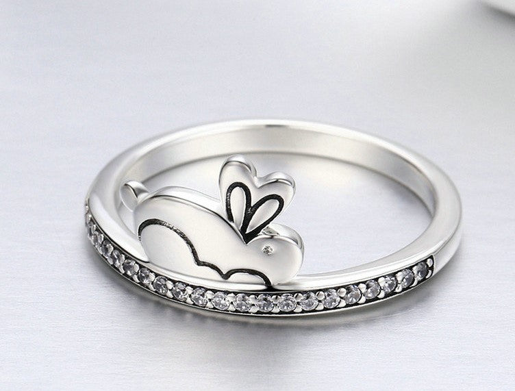 The Loaf- Sterling Silver - Love of Rabbits