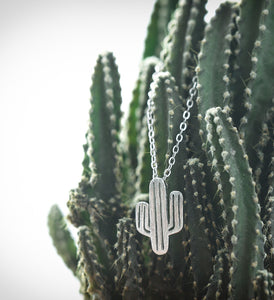 Cactus - Sterling Silver