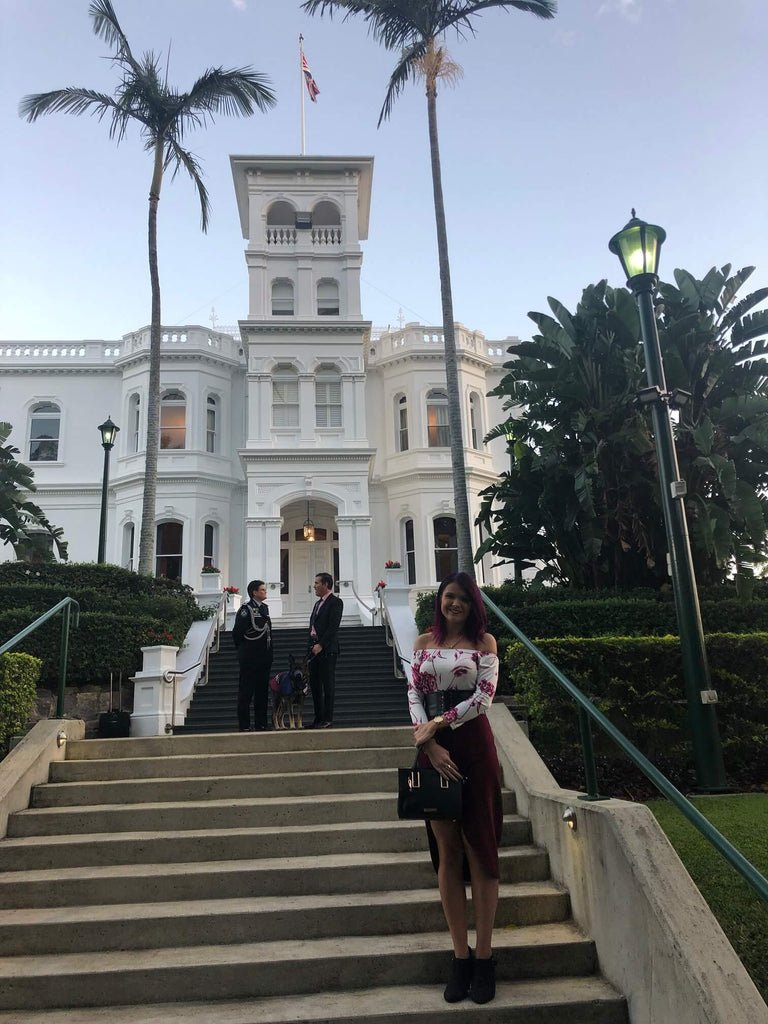 Chern'ee Attends the Launch of NAIDOC Week at Government House