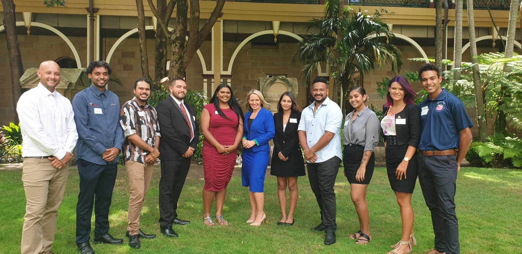 Chern'ee is announced as a Queensland Young Tourism Leader