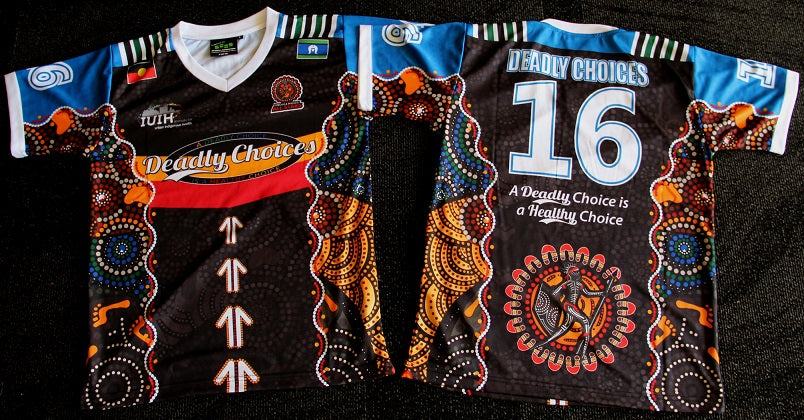 Chern'ees artwork used for the 2016 Deadly Choices T-shirts