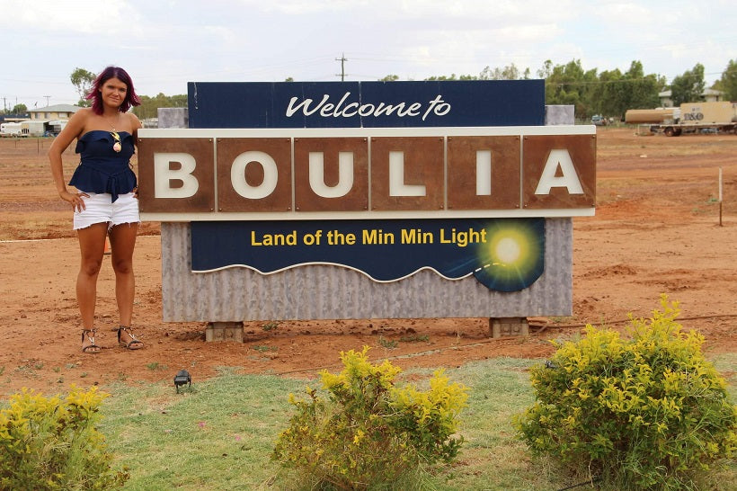 Australia day Ambassador for the Boulia Region