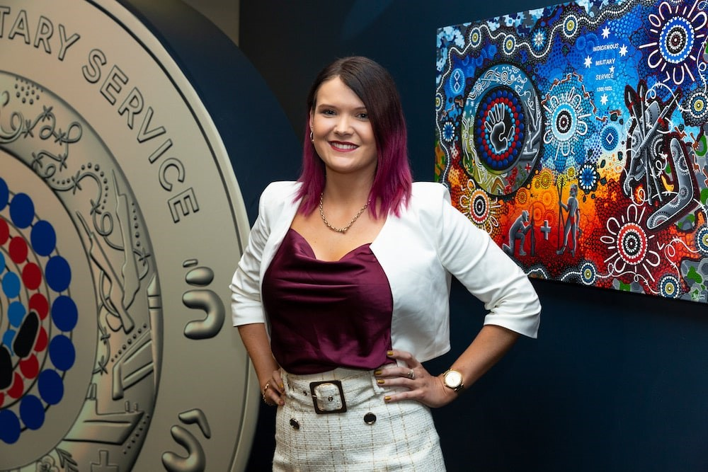Chern'ee Sutton Designs Australia's Newest Coin